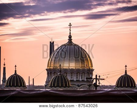 Nativity Of Christ Cathedral In Riga