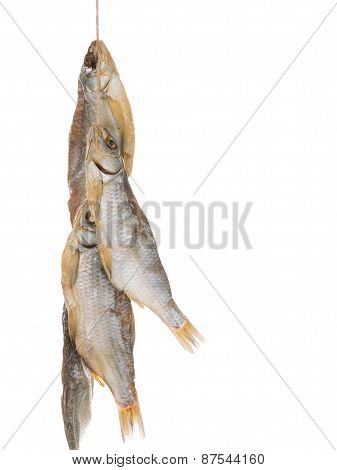 Smoked Fish On A Rope