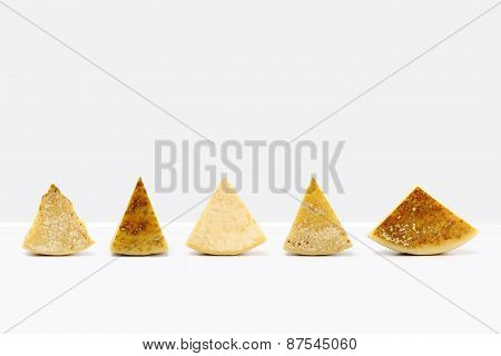 Composition Of Pieces Of Cheese