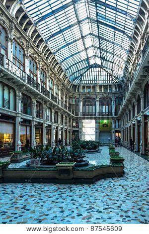 The Galleria Subalpina in Turin
