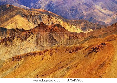 Rocks And Stones , Mountains , Ladakh Landscape Leh, Jammu & Kashmir, India