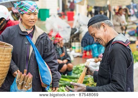 Hmong people doing business