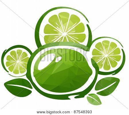 lime and slices
