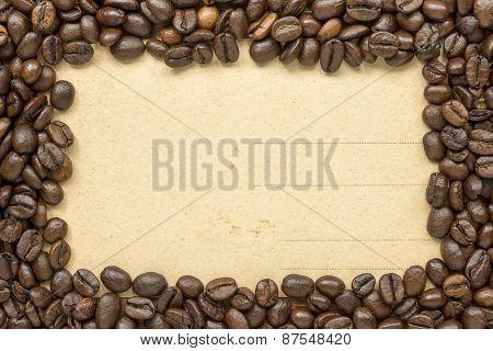 Coffee Frame Vintage