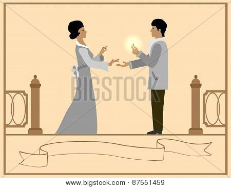 Love and marriage proposal