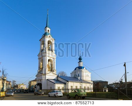 Annunciation Church In Kineshma, Russia