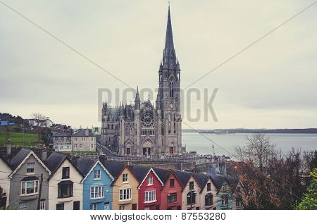 Aerial View Of Cobh