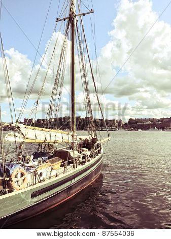 Sailboat Near Stockholm, Sweden