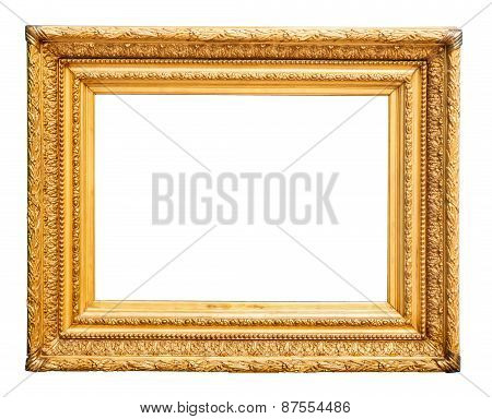 Magnificent Golden Picture Frame