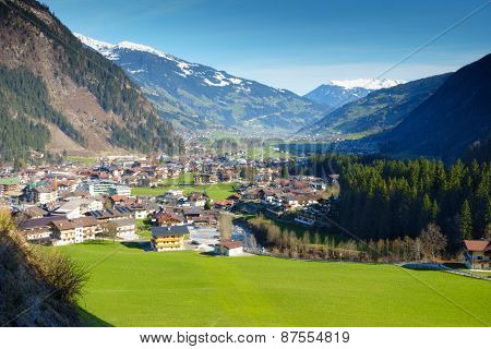 Mayrhofen in the ziller valley