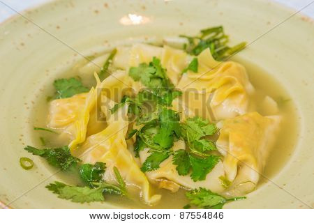 Lemongrass Chicken Dumplings