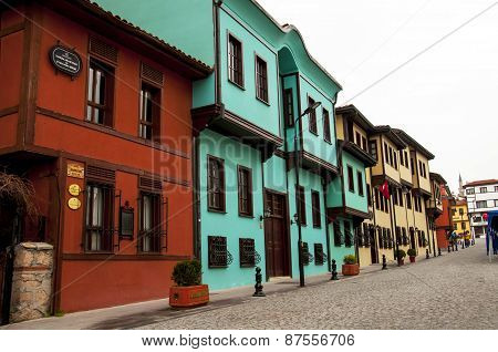 Old historical Turkish Houses