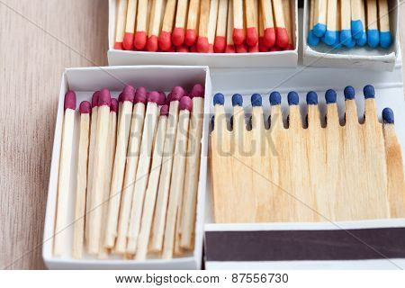 Multicolored Matches