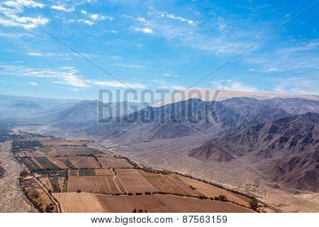 Nazca Aerial Landscape