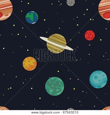 Solar System Texture