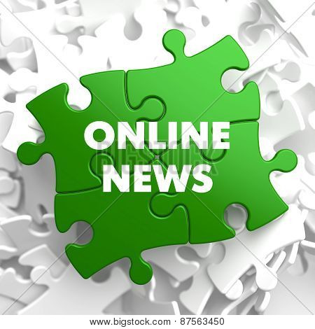 Online News on Green Puzzle.
