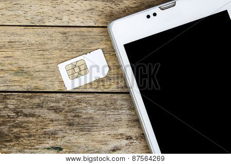 Smart Phone Use With Micro Sim Card, Black Screen