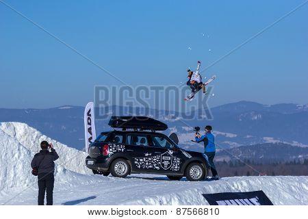 Voita Bresky, Czech skier