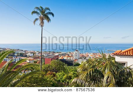 Funchal City, Madeira Island, Portugal