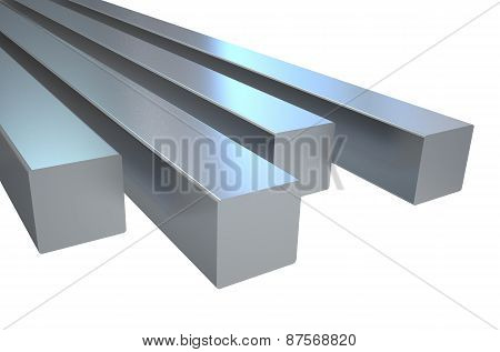 Steel Square Rods