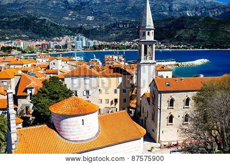 Budva old city