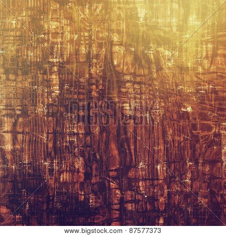 Abstract rough grunge background, colorful texture. With different color patterns: yellow (beige); brown; purple (violet)