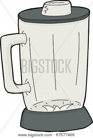 Single Empty Blender Jar