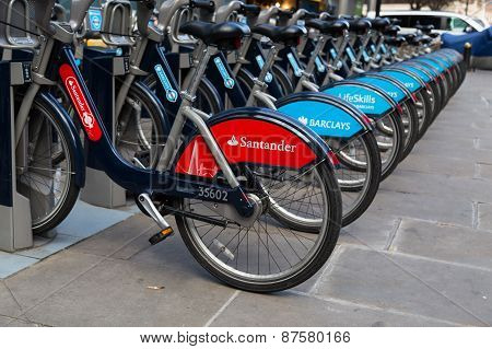 Public Hire Bikes In London