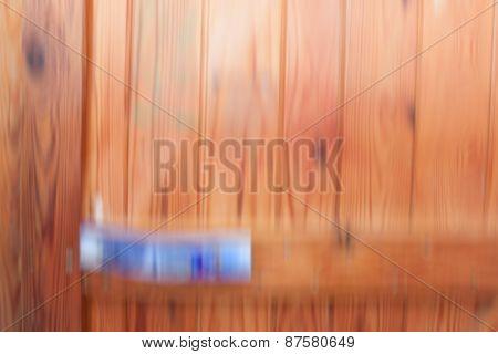 Wooden Door Blurred