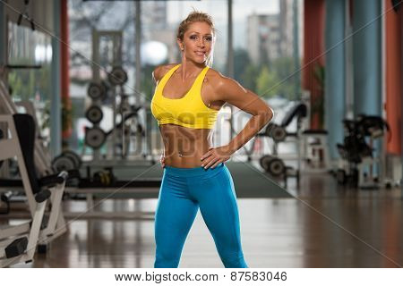 Portrait Of A Physically Fit Middle Age Womane