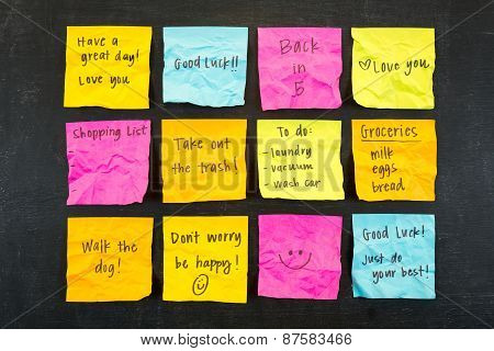 Sticky Note Messages