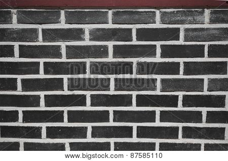 Black Brickwall