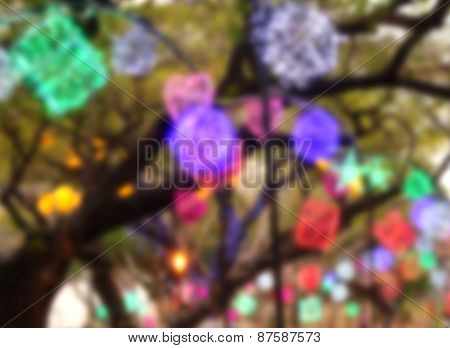 Colorful Lantern Background