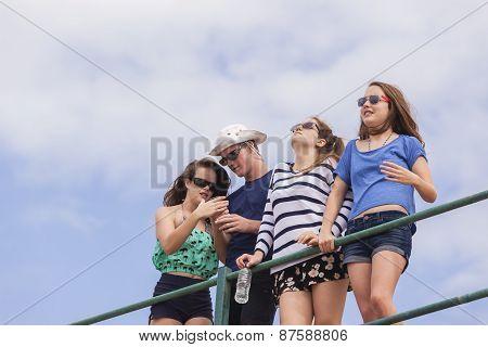 Girls Boy Holidays Beach