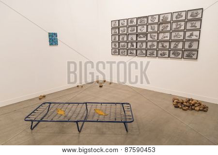 Installation On Display At Miart 2015 In Milan, Italy