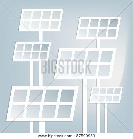 Flat Solar Battery