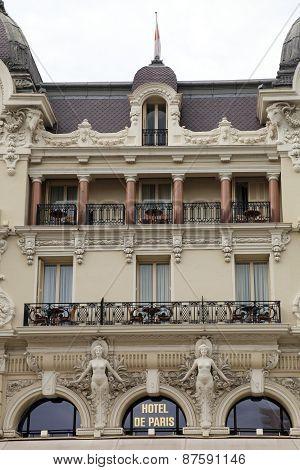 Hotel De Paris In Monte Carlo, Monaco