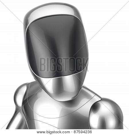 Robot Futuristic Cyborg Concept