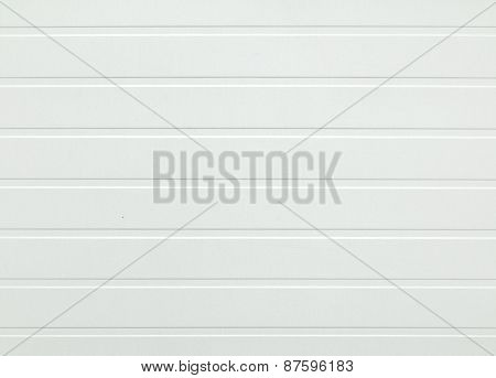White Plastic Panel