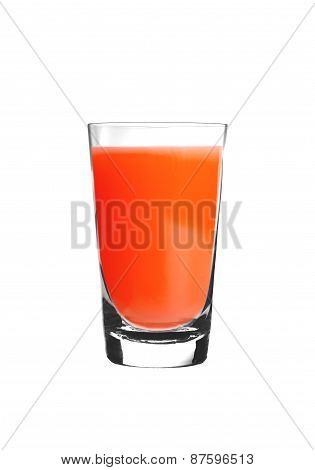 Bloody Mary Cocktail Isolated On White
