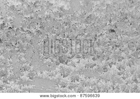 Grey Frosted Window