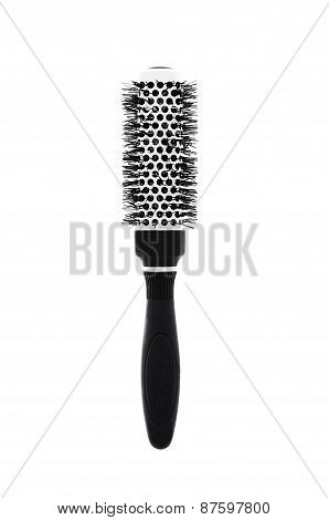 Hairbrush Isolated On White