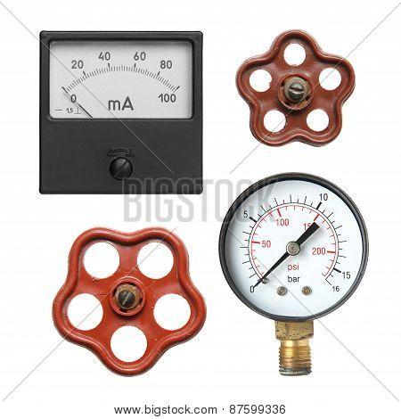 Amperemeter.