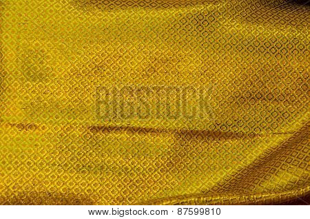 Golden Cloth Of Budhist