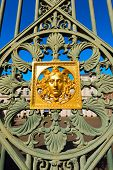 stock photo of turin  - Detail of the gate  - JPG