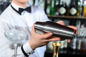 stock photo of bartender  - Bartender accessories - JPG