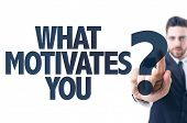 pic of motivation  - Business man pointing the text - JPG