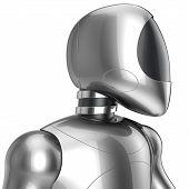 stock photo of cyborg  - Cyborg futuristic robot concept - JPG