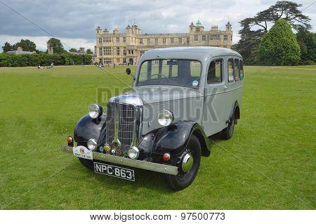 Classic Jowett Bradford Van