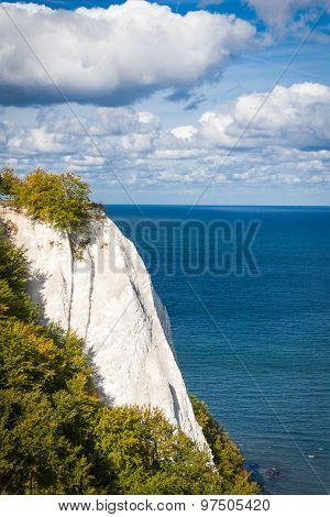 Chalk Cliffs In The Jasmund National Park On Rügen